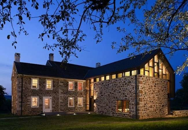 House Tour: Stone Farmhouse Addition