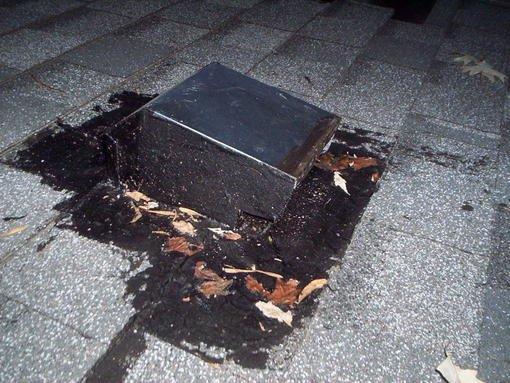 Yanking leaky roof vent in winter can it be done forum for Roof leaking in winter