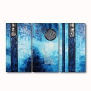 3-pc-handmade-abstract-painting-into-the-blue-stretched-ready-to-hang