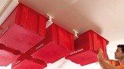 Familyhandyman diy garage ceiling storage system