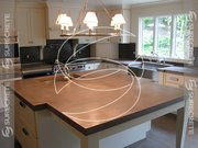Do it yourself smooth concrete kitchen countertop article