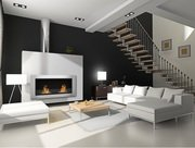 Ventless wall mounted fireplace1