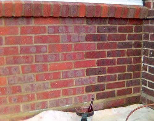 Brick stain tint forum bob vila for Staining brick exterior pictures