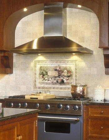 1067 custom stone kitchen