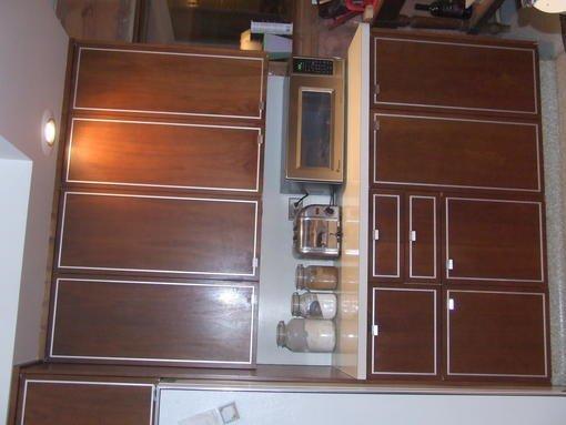 St Charles Metal and Walnut cabinets - Forum - Bob Vila
