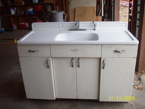 metal kitchen sink base cabinet selling youngstown kitchen cabinets forum bob vila 23264