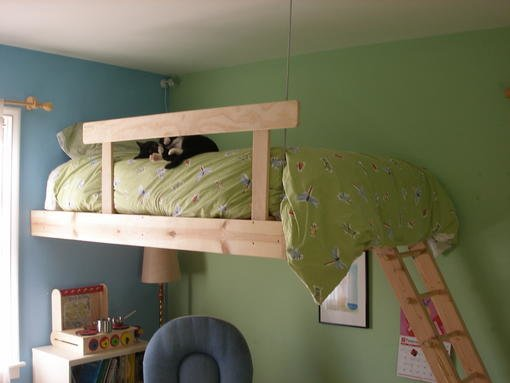 4847 loft bed alternative