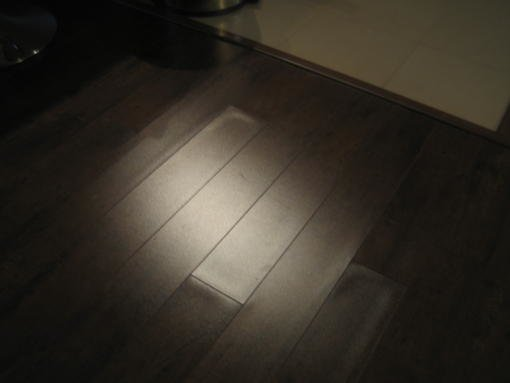 Laminate floor is cupping and gaps installation issue for Hardwood floors cupping