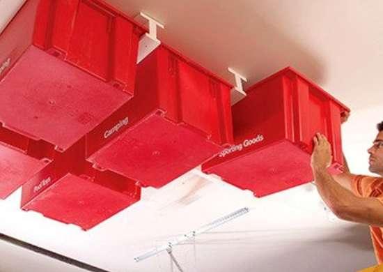 Ceiling storage   home organization ideas for every room   bob vila