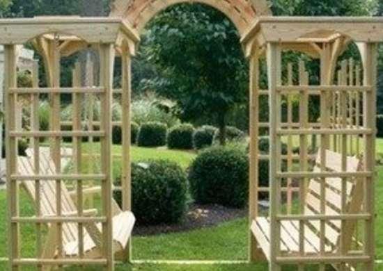 Arbor Bench Arbor Ideas 10 Styles To Introduce In Your Garden Bob Vila