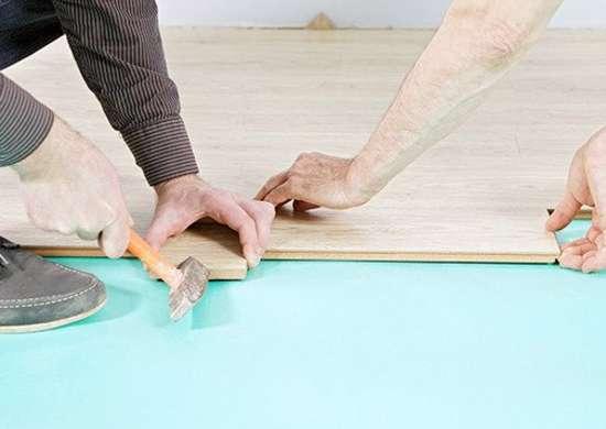 How to fix creaky floors