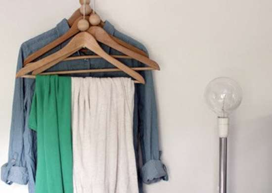 Hanging clothes 8 diy closet racks bob vila No closet hanging solutions