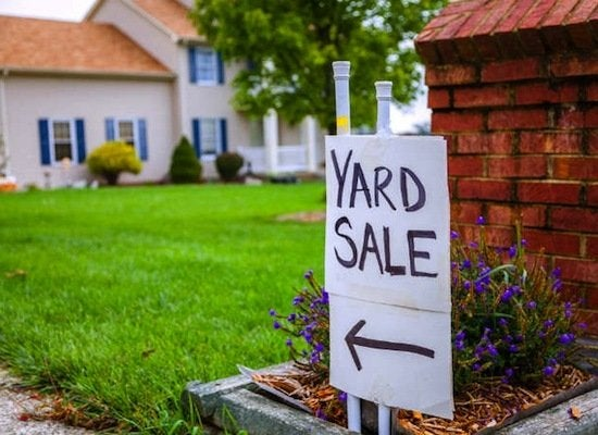 yard sale signs check local ordinances on sign placement make your signs easy to read from the road and similar in design so people can follow them