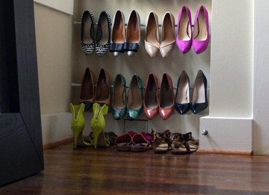 Diy Shoe Rack 7 New Ideas Bob Vila