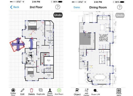 Best app for mapping out a floor plan diy home for Bob house plans