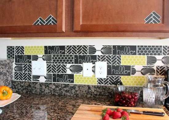 backsplash for rental kitchen apartment kitchen ideas 9 temporary