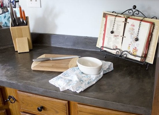 Faux Concrete Countertops