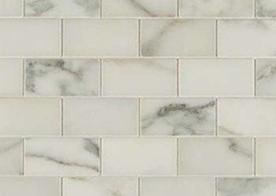 Mosaictilestone calacatta subway tile