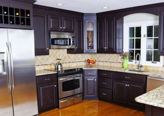 Improve kitchen cabinets how to increase home value for Cheapest way to reface kitchen cabinets