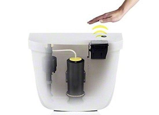 Kohler Touchless Toilet Flush System Modern Toilets