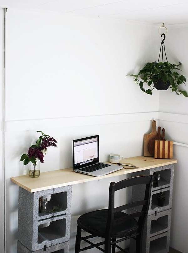 Admirable Cinder Block Furniture 8 Easy Diy Ideas Bob Vila Creativecarmelina Interior Chair Design Creativecarmelinacom