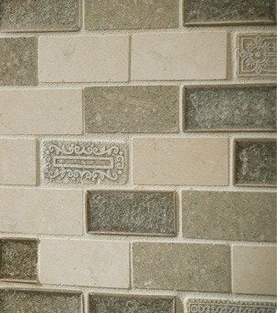 Sonoma tilemakers salvestrin blend subway tiles