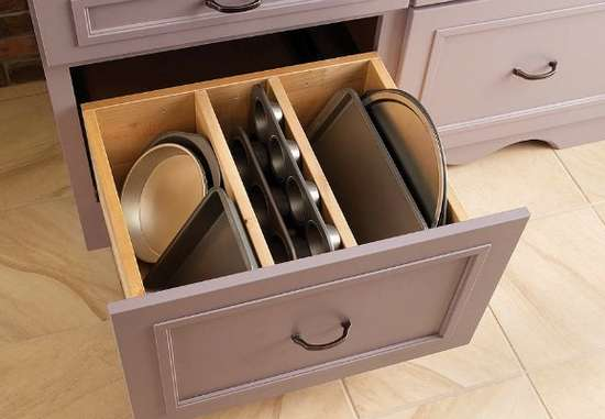 Storing Cookie Sheets and Tins