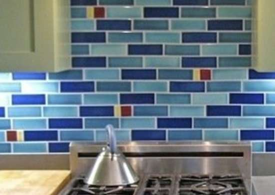 Fireclaytiles vitrail subway tiles backsplash