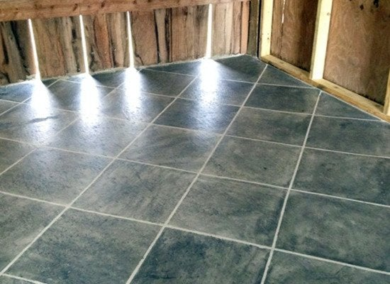 stained concrete floors 8 diy ways to improve your On bleach on concrete floor