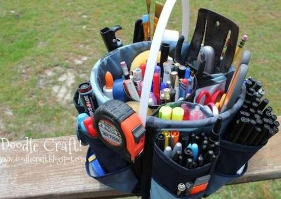 Bucket Bag Organizer
