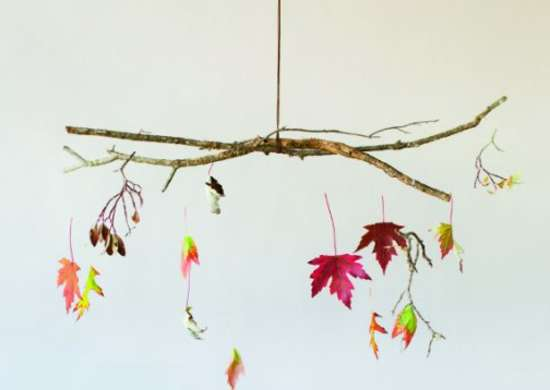 DIY Fall Mobile