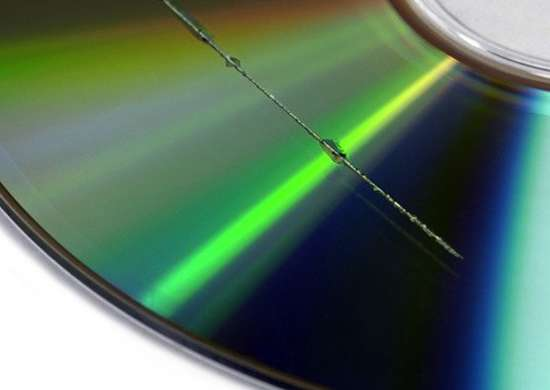 Repair scratched DVDs with Toothpaste
