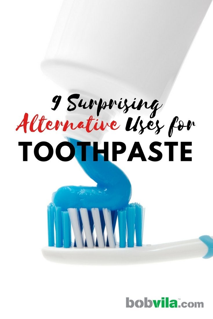 9 surprising alternative uses for toothpaste