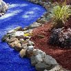 Blue Glass Gravel Landscaping