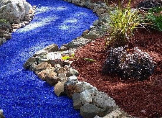 Blue Gl Gravel Landscaping