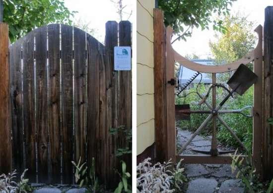 Diy garden gate 9 ways to repurpose tools as decor bob for Diy garden gate designs