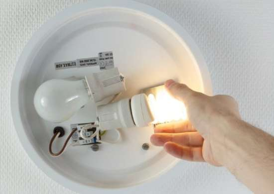 Switch to Energy Efficient Lights