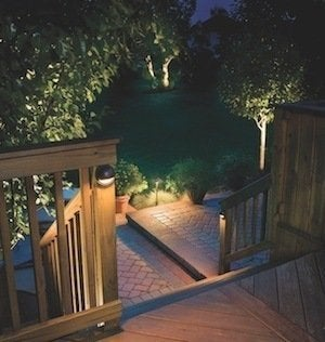 Outdoor lighting ideas 12 ways to light your property bob vila kichler outdoor lighting deck aloadofball Images