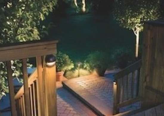 Kichler outdoor lighting deck
