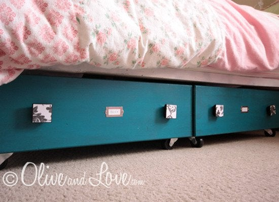 Underbed Drawer On Wheels