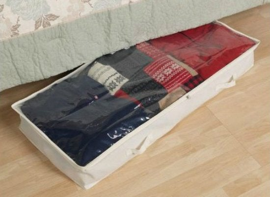 Under Bed Canvas Chest