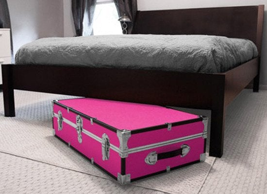 Take A Cue From College Students And Invest In Good Quality Trunk That Fits Under The Bed Barrel Top To Wardrobe Steamer Trunks Almost