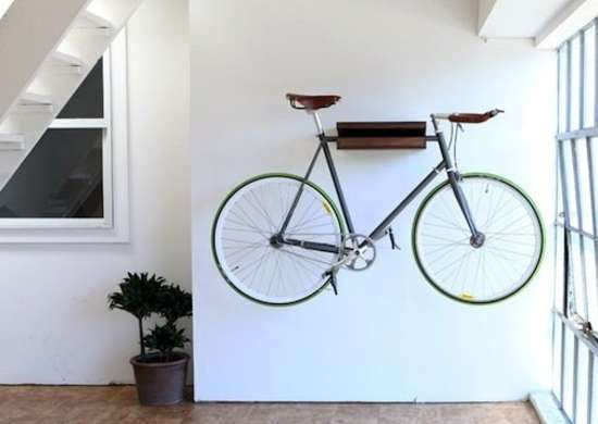 Hanging Bike Indoors