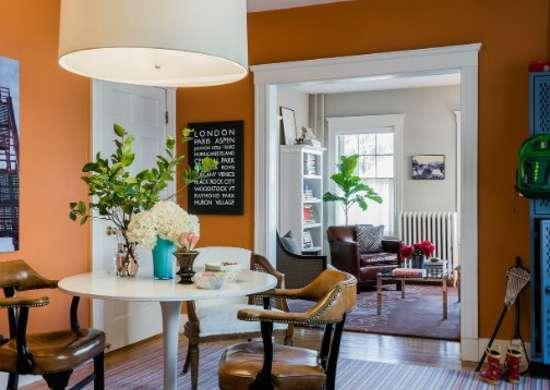 Orange Dining Room Paint Colors For Dark Rooms 9 Perfect Picks Bob Vila