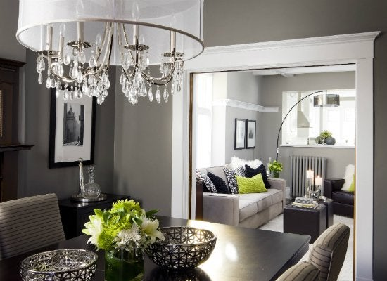 Grey dining room paint colors for dark rooms 9 perfect picks bob vila for Best light gray paint for living room