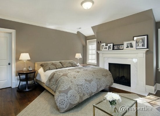 grey and white bedroom paint colors for dark rooms 9