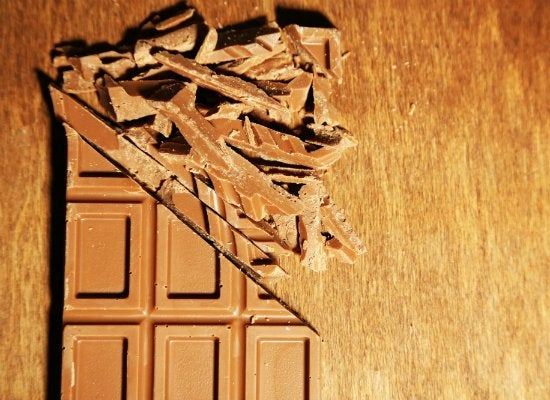 how to clean chocolate stains from purse
