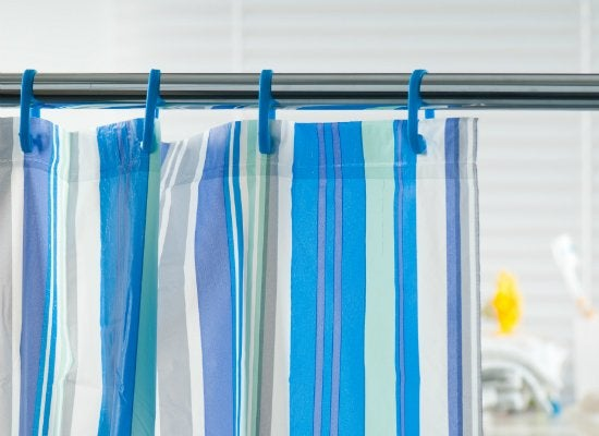 How To Keep The Shower Curtain From Blowing In