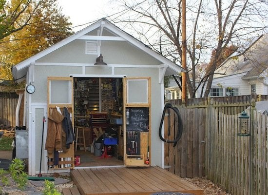 Workshop Shed - Workshop Ideas - Where to Set Up Yours ...