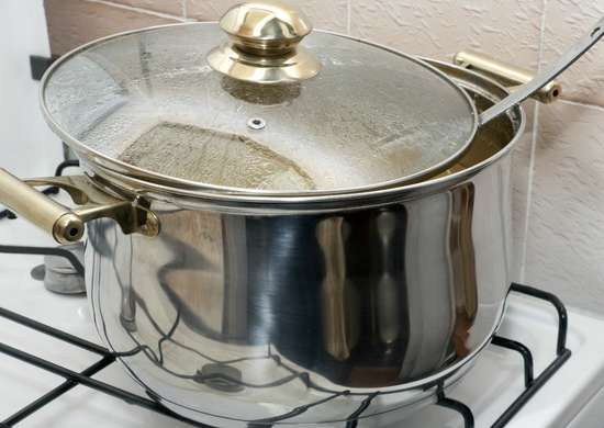 Cleaning Stove Top